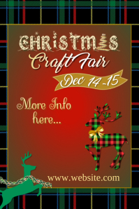 Christmas Craft Faire Poster