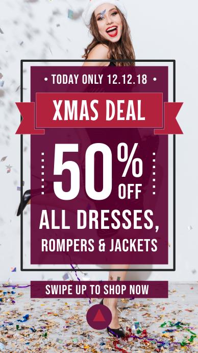 Christmas Deal Instagram Story