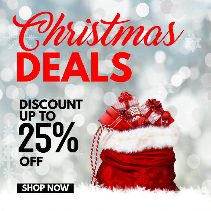 Christmas Deals.Christmas Deals Template Postermywall