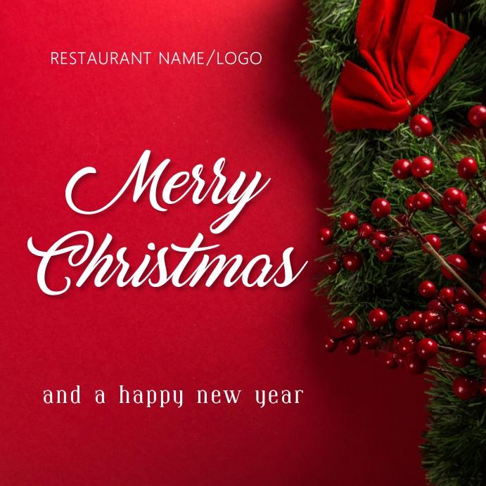 Christmas Pos Instagram template