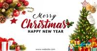 Christmas Design Template Gambar Bersama Facebook