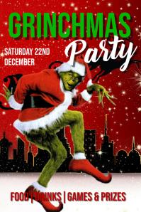 Christmas Plakat template