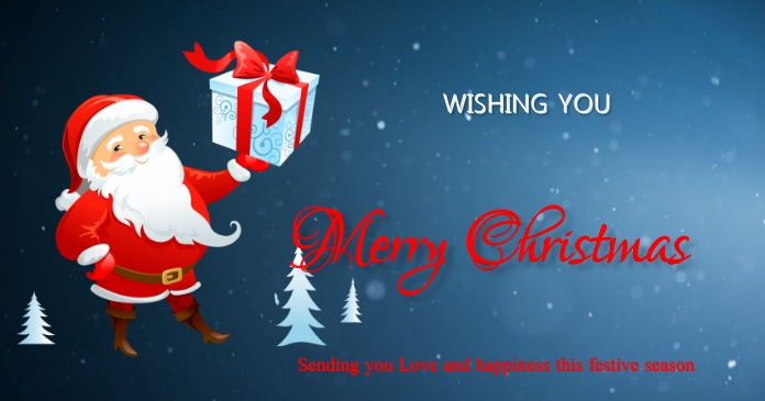 Christmas Facebook Shared Image template