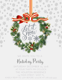 9 730 customizable design templates for christmas invitation