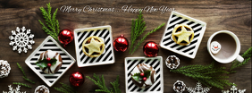 Christmas Foto Sampul Facebook template