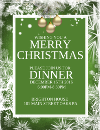 7 840 customizable design templates for christmas dinner postermywall