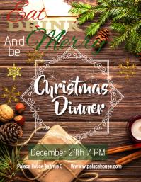 Christmas Dinner Template