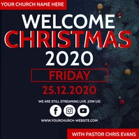 CHRISTMAS EVE CHURCH EVENT Template Square (1:1)