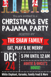 Christmas Eve Pajama Party