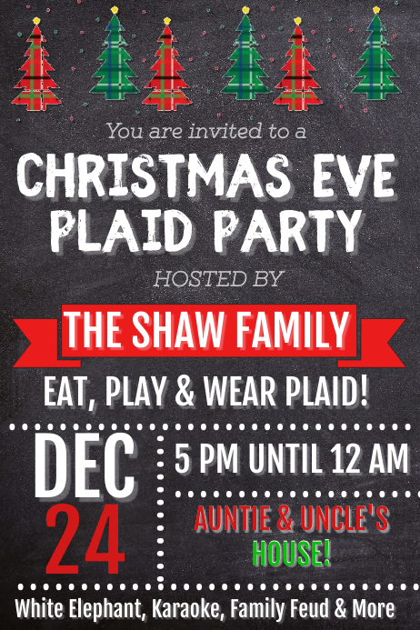 Christmas Eve Party