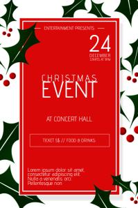 christmas concert flyer
