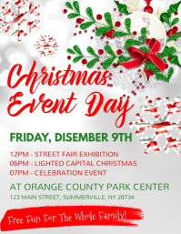 Christmas Event Day Flyer