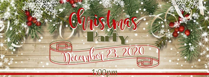 Christmas Event Facebook-coverfoto template