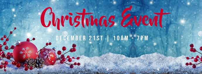 Christmas Event Facebook Cover