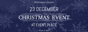 Christmas Event festival Concert Template facebook cover