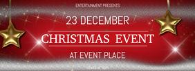 Christmas Event festival Concert facebook cover Template