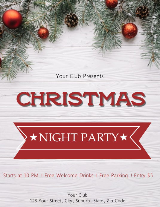 Christmas Event Flyer Template PosterMyWall