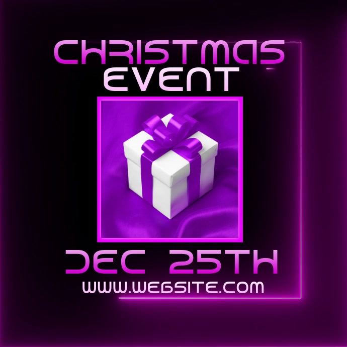 CHRISTMAS EVENT FLYER VIDEO