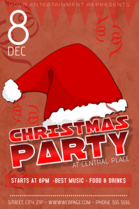 Christmas Event Party Concert Poster Template kids