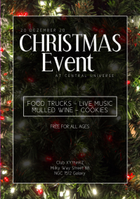 Christmas event party park market bar music