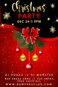Christmas Event Poster Template