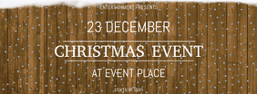Christmas Event Soncert kids facebook cover Template