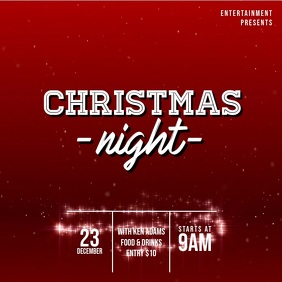 Christmas Event Video Template for instagram