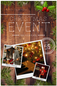 Christmas Event Flyer Template with Photos