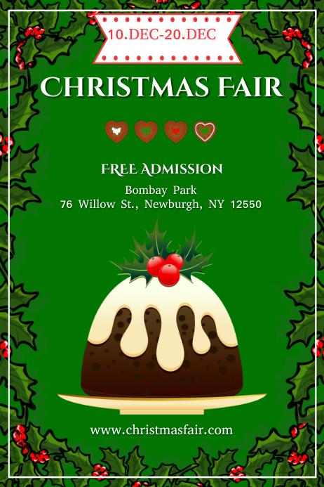 christmas fair template