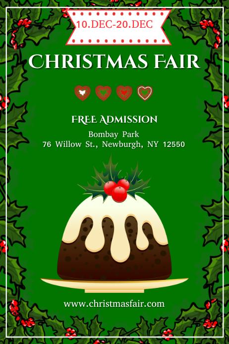 christmas fair Template | PosterMyWall