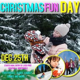 CHRISTMAS FAMILY FUN DAY AD DIGITAL VIDEO
