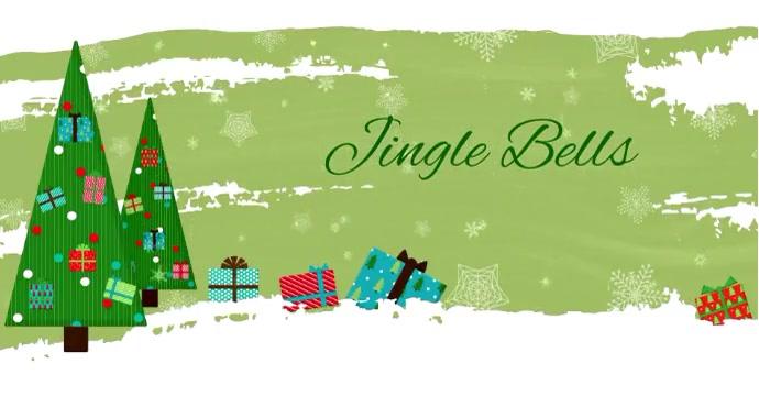 Christmas FB ads Carol Jingle Bells Iklan Facebook template
