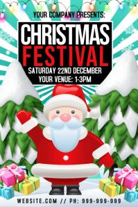 Christmas Festival Poster