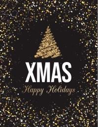 christmas flyer, christmas, christmas video