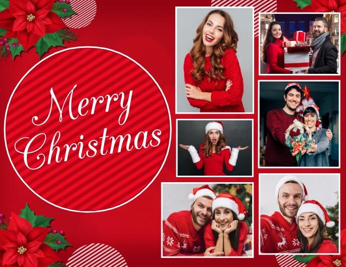 christmas flyer, christmas, merry christmas 传单(美国信函) template