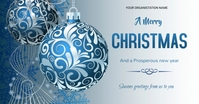 Christmas flyer Facebook Shared Image template