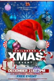 free christmas flyer