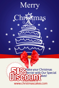 Christmas Retail Poster Templates | PosterMyWall