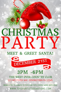 HOLIDAY PARTY · CHRISTMAS. Similar Design Templates