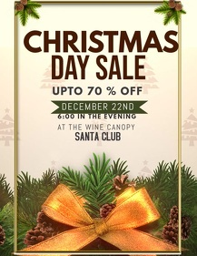 Christmas flyers,event flyers,boxing sale