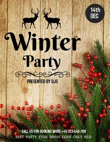 Christmas flyers,event flyers,party flyers