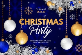Christmas flyers,event flyers,party flyers Poster template