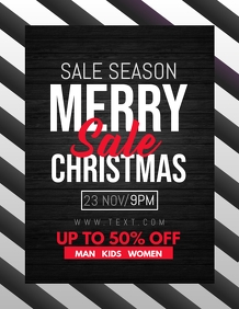 christmas flyers,retail flyers,winters sale