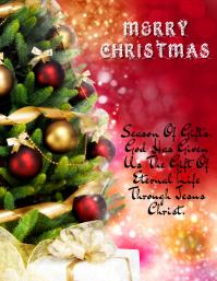 Christmas Gift Flyer (US-Letter) template