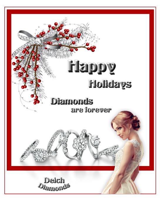 Christmas Gift Diamonds