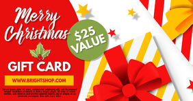 Christmas Gift Voucher Template