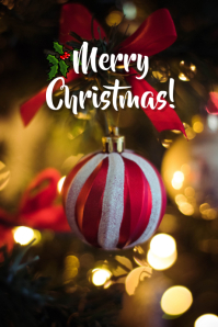 Christmas greeting 2 Tumblr Grafieka template