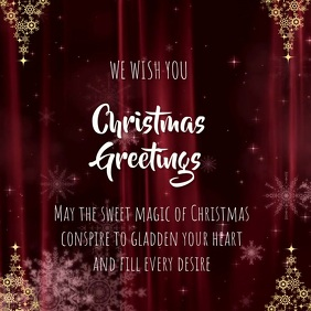 Customize 1 590 Christmas Cards Design Templates Postermywall