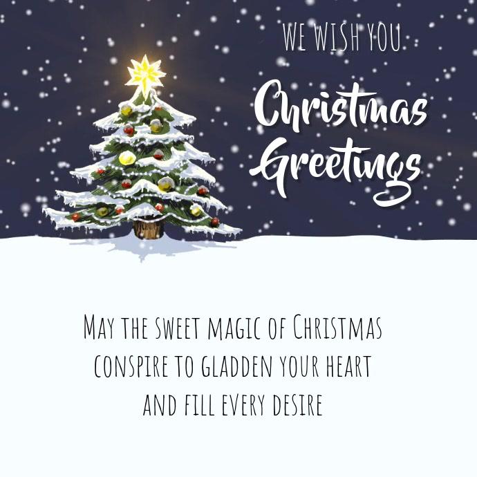 Christmas Greeting.Christmas Greeting Card