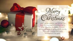 Christmas Greeting Card Message Gift Wishes